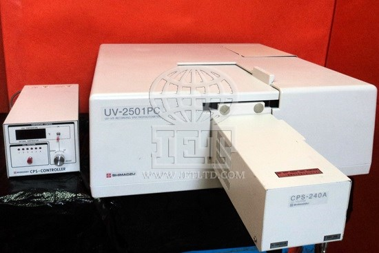 Shimadzu Uv 2501pc Spectrophotometer Iet Refurbished